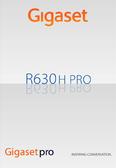 Titelbild Bedienungsanleitung: Gigaset R630H PRO