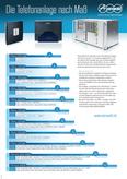 Titelbild Poster: Die Auerswald Telefonanlage nach Maß - inkl. Auerswald COMpact 3000 analog