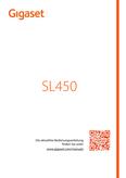 Titelbild Bedienungsanleitung Gigaset SL400