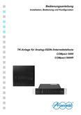 Titelbild Bedienungs- und Konfigurationsanleitung: Auerswald COMpact 5000R
