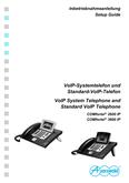 Titelbild Inbetriebnahmeanleitung: Auerswald COMfortel 1200 IP