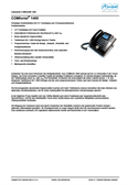 Titelbild Datenblatt: Auerswald COMfortel 1400