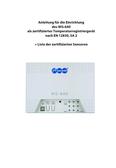 Titelbild Anleitung für die Einrichtung: Auerswald WG-640