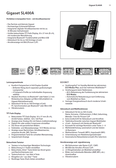 Titelbild Steckbrief: Gigaset SL400A