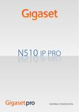 Titelbild Bedienungsanleitung: Gigaset S510H PRO