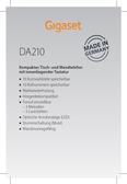 Titelbild Messekärtchen: Gigaset DA210