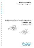 Titelbild Bedienungs- und Konfigurationsanleitung: Auerswald COMfortel 3200