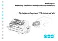 Titelbild Installation und Montage: Auerswald TFS-Dialog 300 a-b