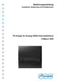 Titelbild Bedienungs- und Konfigurationsanleitung: Auerswald COMpact 4000