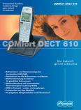 Titelbild Prospekt: Auerswald COMfortel DECT 610