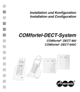 Titelbild Inbetriebnahmeanleitung Auerswald COMfortel DECT 900C