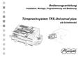 Titelbild Bedienungsanleitung: Auerswald TFS-Universal plus