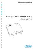 Titelbild Inbetriebnahmeanleitung: Auerswald COMfortel DECT IP1040