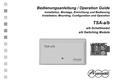 Titelbild Bedienungsanleitung: Auerswald TSA-a/b