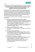 Titelbild Checkliste für den Errichter/Installateur zur Dokumentation für COMmander Basic.2