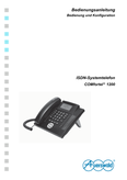 Titelbild Bedienungs- und Konfigurationsanleitung: Auerswald COMfortel 1200