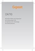 Titelbild Messekärtchen: Gigaset DA710