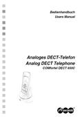 Titelbild Bedienhandbuch Auerswald COMfortel DECT 650C