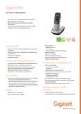 Datenblatt : Gigaset E560
