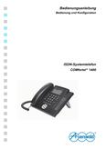 Titelbild Bedienungs- und Konfigurationsanleitung: Auerswald COMfortel 1400