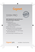 Titelbild Messekärtchen: Gigaset S510H PRO