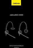 Titelbild Bedienungsanleitung: Jabra BIZ 2400 Duo