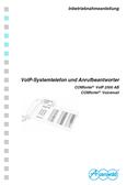Titelbild Inbetriebnahmeanleitung: Auerswald COMfortel VoIP 2500 AB