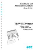 Titelbild Installations- und Konfigurationshandbuch für den Errichter Auerswald COMpact 4406 DSL