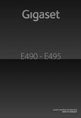 Titelbild Bedienungsanleitung Gigaset E490