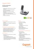 Datenblatt : Gigaset E560A