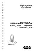 Titelbild Bedienhandbuch Auerswald COMfortel DECT 610