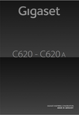 Titelbild Bedienungsanleitung: Gigaset C620
