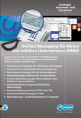 Titelbild Prospekt: Zentrales VoiceMail- und Faxsystem Auerswald COMmander 6000RX