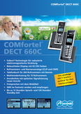 Titelbild Prospekt: Auerswald COMfortel DECT 660C