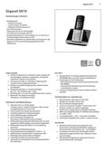 Titelbild Steckbrief: Gigaset S810A