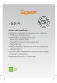 Titelbild Messekärtchen: Gigaset E630A