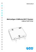 Titelbild Bedienhandbuch: Auerswald COMfortel DECT IP1040