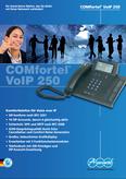 Titelbild Prospekt: Auerswald COMfortel 250 VoIP