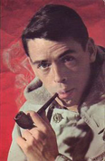 jacques brel fume la pipe mais pas une Louis Vuitton