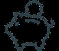 GRIMASKE® Medizinische Gesichtsmaske Typ 1 CE | EN 14683 mit HeiQ Viroblock® Technologie mit angenehmen Tragekomfort von Feld Textil GmbH - https://www.krawatten-tuecher-schals-werbetextilien.de/ - spart Geld