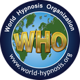 Siegel der World Hypnosis Organization WHO für Stephanie Konkol