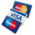Carte di credito (Mastercard, Visa, Maestro e Pagobancomat)