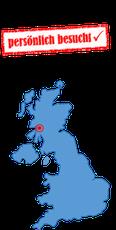 Schottlandkarte