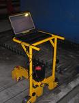 SIMERA : Mesure de piste de béton précontraint