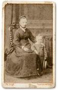 Schuhmacherei Baumbach - 1881 Schuhmachermeister Conrad Brill im Alter von 4 Jahren