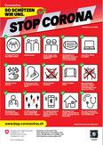 BAG Plakat Stop Corona 29.10.2020