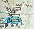 Glifo del antiguo señorío de Koatlichan.