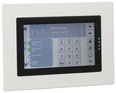 Touch-Bedienteil BT 801 uP von Telenot; presented by SafeTech