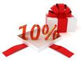 10 Prozent Aktion