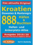 Kroatien - 888 Häfen und Buchten Küsten-und Hafenführer für Boots- und Yachtsportler